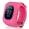 Детские часы с GPS WatchBaby Q50 Розовые
