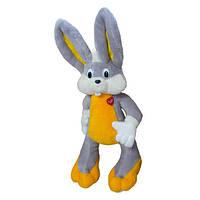 Мягкая игрушка Kronos Toys Заяц Багз Банни 153 см Серый zol032-2, КОД: 120626