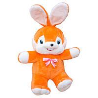 Мягкая игрушка Kronos Toys Заяц Сеня 73 см Оранжевый zol039-4, КОД: 120756