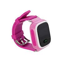 Детские умные часы BabyGPS Q60S Pink, фото 1