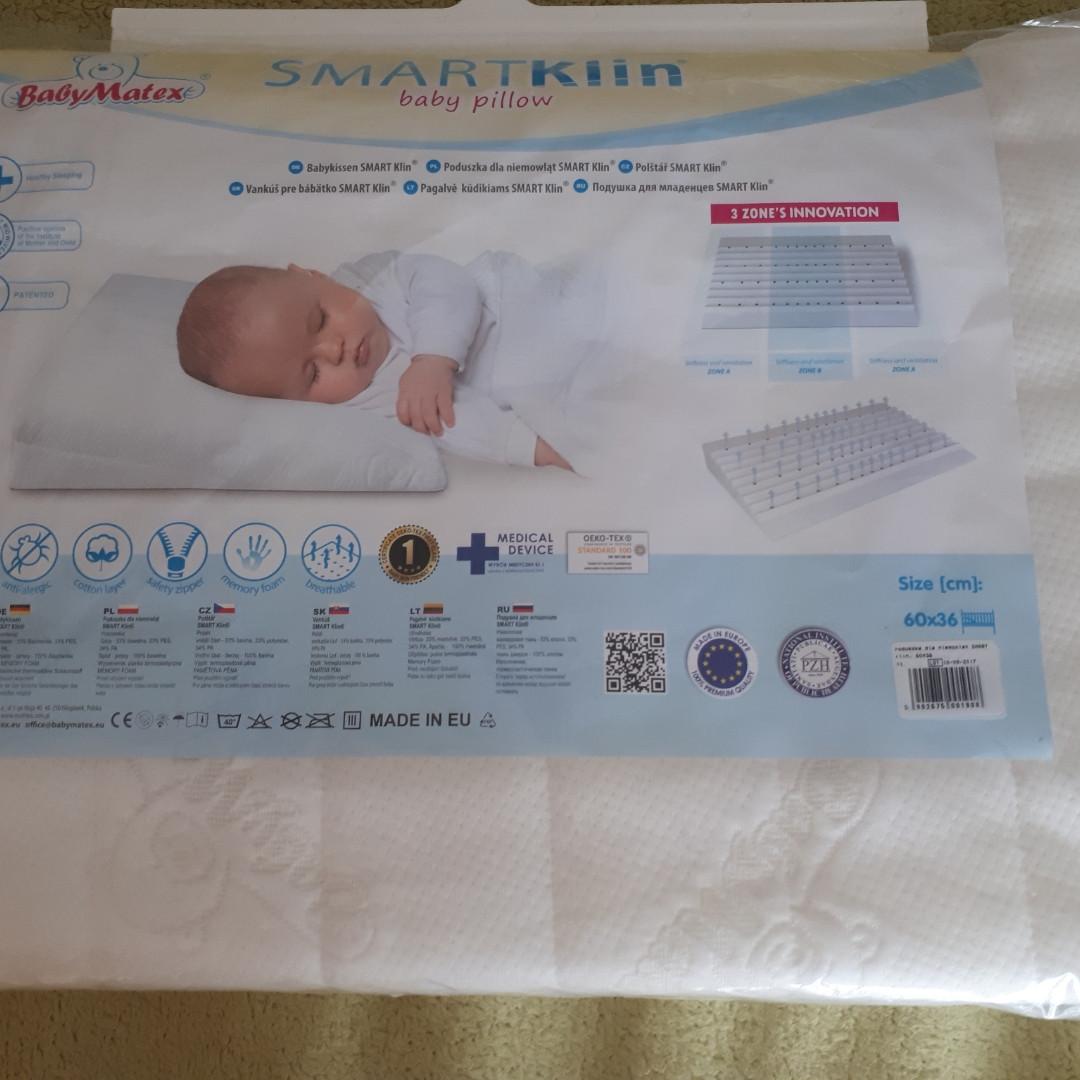 Подушка для младенцев Baby matex, ортопедическая 60*36 см