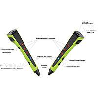 3D Ручка HONYA Model P64 Зелена