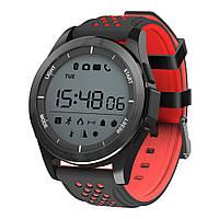 Водонепроницаемые Умные часы SmartWatch NO.1 F3 Black-Red , фото 1