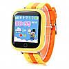 Детские часы WatchBaby с GPS Q100S Жёлтые
