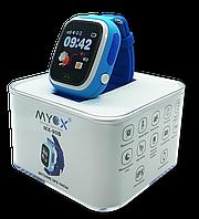Детские смарт-часы GPS MYOX MX-90B Blue, фото 1