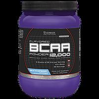 BCAA аминокислоты Ultimate Flavored BCAA 12,000 Powder (228 г) Черника