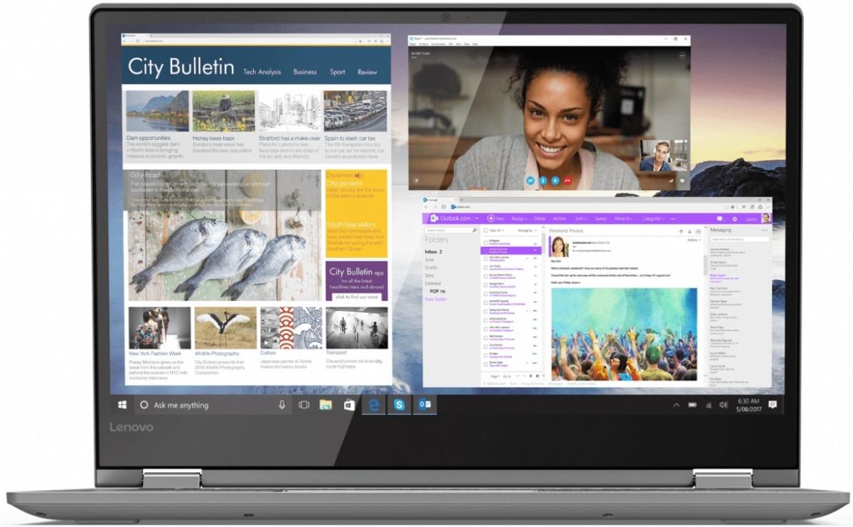 Ноутбук Lenovo Yoga 530 14FHD IPS Touch/Intel i3-7130U/8/256F/int/W10/Onyx Black