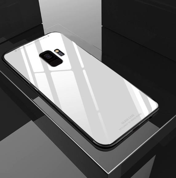 Стеклянный чехол для Samsung Galaxy A7/A750 (2018)