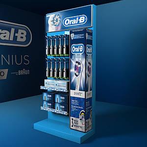 Торговельне обладнання ⚠️стійки Oral-b для зубних щіток