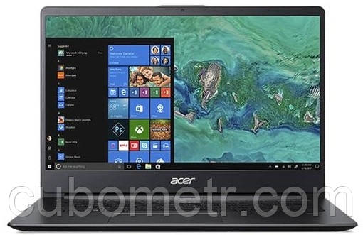 Ноутбук Acer Swift 1 SF114-32-P40Z 14FHD IPS AG/Intel Pen N5000/8/128F/int/W10/Black