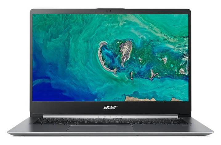 Ноутбук Acer Swift 1 SF114-32-C2ZL 14FHD AG/Intel Cel N4000/4/128F/int/Lin/Silver, фото 2