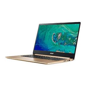 Ноутбук Acer Swift 1 SF114-32-P1KR 14FHD IPS AG/Intel Pen N5000/4/128F/int/Lin/Gold, фото 2