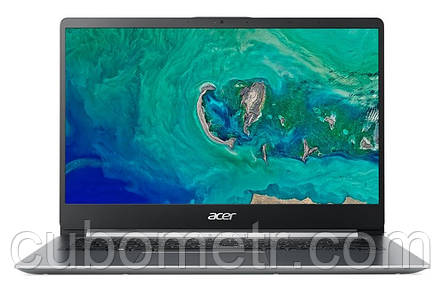 Ноутбук Acer Swift 1 SF114-32-P4PW 14FHD IPS AG/Intel Pen N5000/8/128F/int/Lin/Silver, фото 2