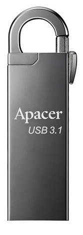 Накопитель Apacer 64GB USB 3.1 AH15A Black, фото 2