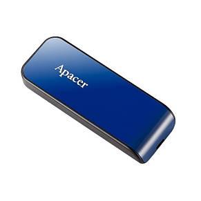 Накопитель Apacer 16GB USB 2.0 AH334 Blue, фото 3