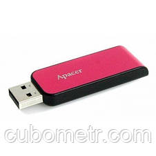 Накопитель Apacer 32GB USB 2.0 AH334 Pink, фото 3