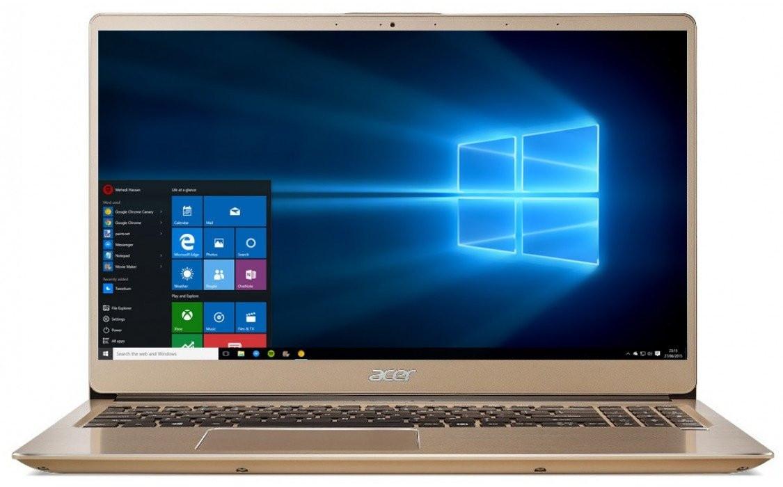 Ноутбук Acer Swift 3 SF315-52-31V4 15.6FHD IPS/Intel i3-8130U/8/256F/int/Lin/Gold