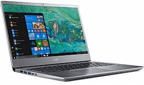 Ноутбук Acer Swift 3 SF315-52-30GF 15.6FHD IPS/Intel i3-8130U/8/256F/int/Lin/Silver, фото 2