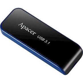 Накопитель Apacer 64GB USB 3.0 AH356 Black, фото 2
