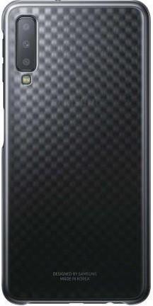 Чехол Samsung Gradation Cover для смартфона Galaxy A7 2018 (A750) Black