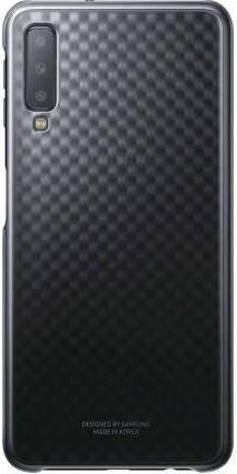 Чехол Samsung Gradation Cover для смартфона Galaxy A7 2018 (A750) Black, фото 2