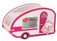 Транспорт для кукол LORI Кемпинг розовый LO37011Z