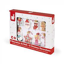 Игровой набор Janod Рождественские узоры J04539, фото 3