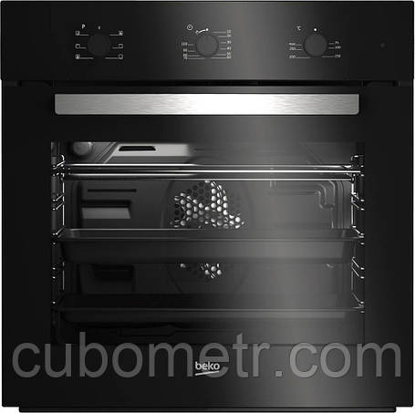 Встраиваемый электрический духовой шкаф Beko BIE21100B - Ш-60 см./6 режимов/71 л./черный, фото 2