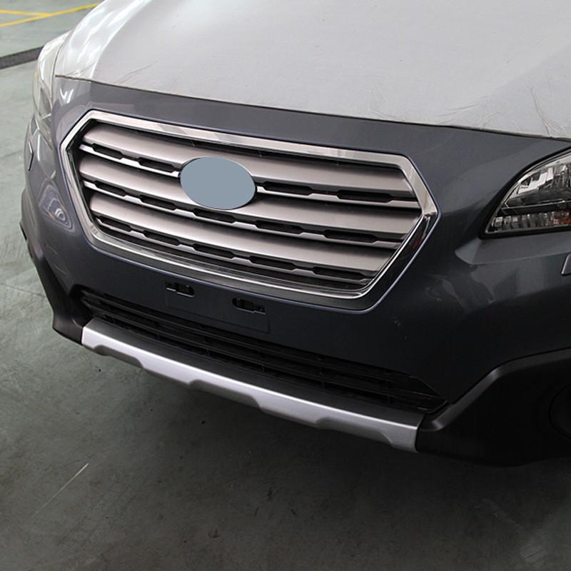 Передня і задня накладки V1 (2 шт) - Subaru Outback 2015+ рр.