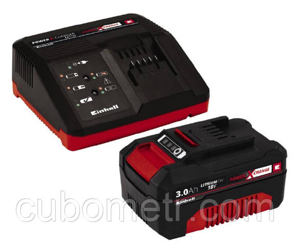 Набор EinhellАккумулятор + зарядное устройство 18V 3.0 Ah PXC Starter Kit, фото 2