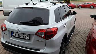 Поперечины под ключ (2 шт) - Suzuki Vitara 2015+ гг.
