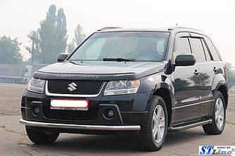 Передний ус ST008 (нерж) - Suzuki Grand Vitara 2005-2014 гг.
