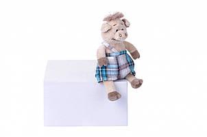 Мягкая игрушка Same Toy Свинка  в комбинезоне 18см THT709, фото 2