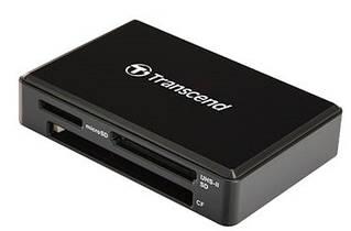 Кардридер Transcend USB 3.1 RDF9K UHS-II Black R260/W190MB/s