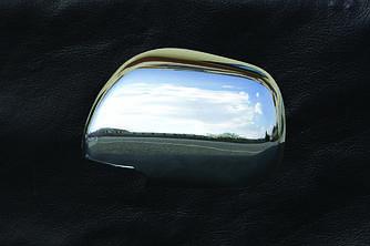 Накладки на зеркала (2 шт) - Toyota Camry 2007-2013 гг.
