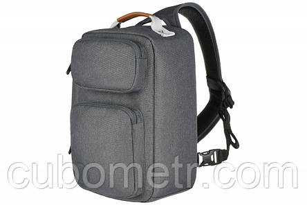Рюкзак слинг для фото/видео камер Golla Cam bag L, серый, фото 2