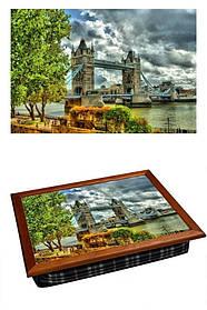 Поднос с подушкой Лондонская Гроза 380-9711026, КОД: 176119