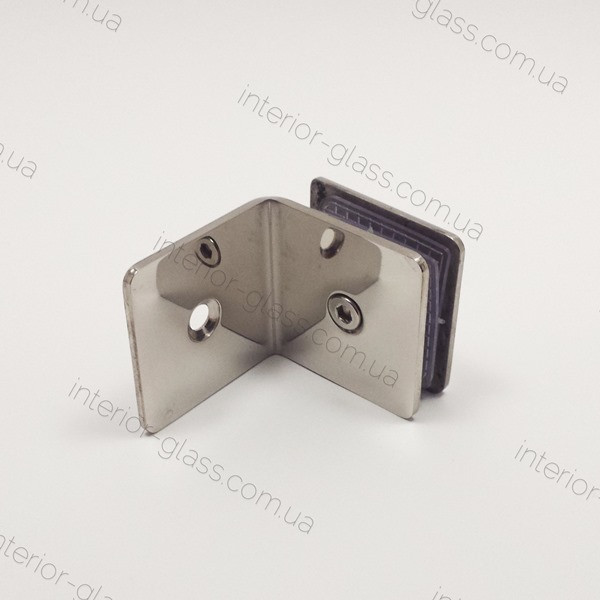 Соединитель стекло-стена HDL-722G PSS штампованный, полированная нержавеющая сталь