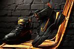 Зимние кроссовки Nike M2K Tekno Winter (Черно-оранжевые), фото 3
