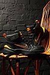 Зимние кроссовки Nike M2K Tekno Winter (Черно-оранжевые), фото 7