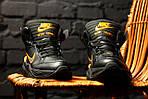 Зимние кроссовки Nike M2K Tekno Winter (Черно-оранжевые), фото 5