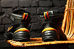 Зимние кроссовки Nike M2K Tekno Winter (Черно-оранжевые), фото 8