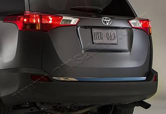 Кромка багажника (нерж.) - Toyota Rav 4 2013-2018 гг.