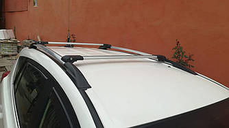 Перемички на рейлінги під ключ (Туреччина, 2 шт) - Toyota Rav 4 2013-2018 рр ..