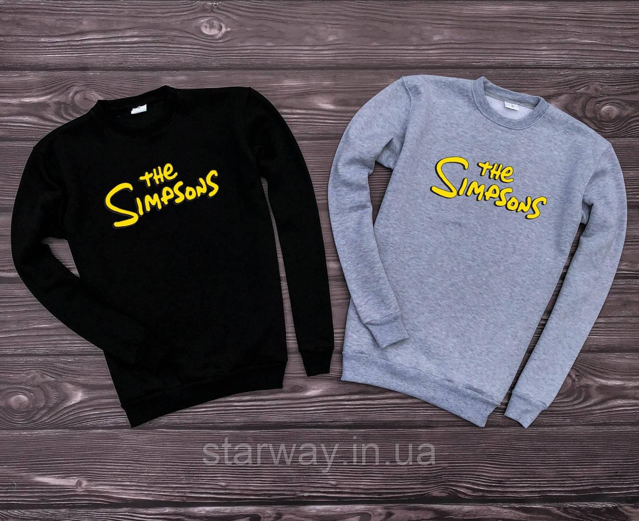 Свитшот The Simpsons logo | Кофта стильная