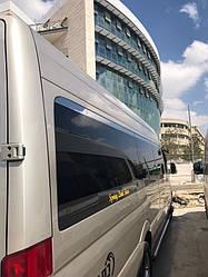 Верхня окантовка вікон (нерж.) - Volkswagen Crafter 2006-2017 рр.
