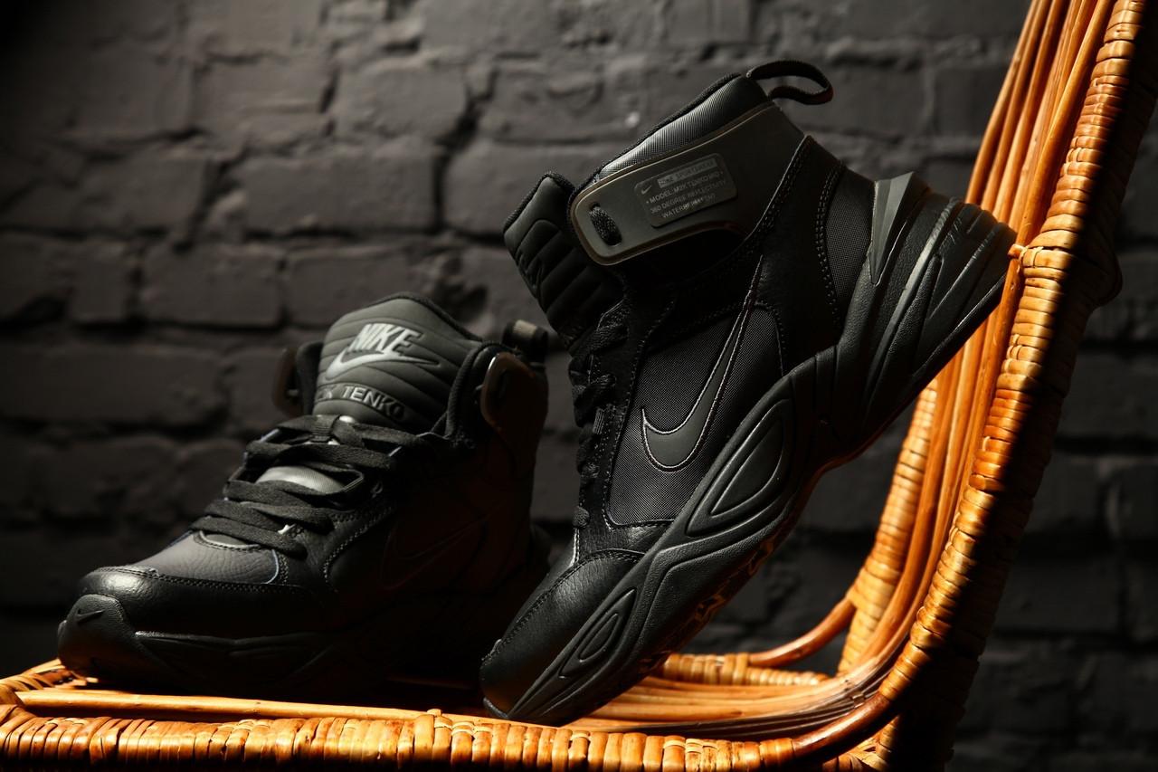 Зимние кроссовки Nike M2K Tekno Winter (Черные)