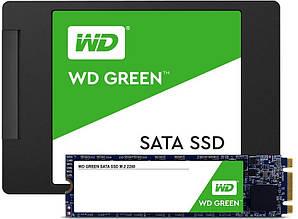 """Твердотельный накопитель SSD 2.5"""" WD Green 120GB SATA TLC"""