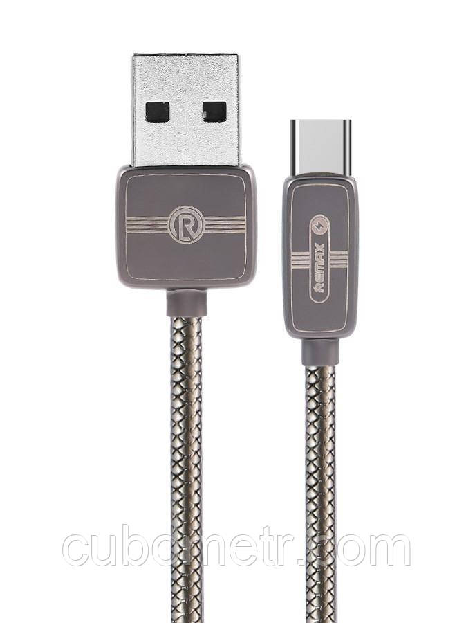 Кабель Remax Regor Data Cable for Type-C, tarnish