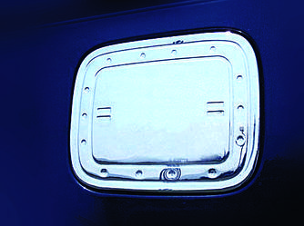 Накладка на лючок баку (нерж) - Volkswagen Caddy 2010-2015 рр.